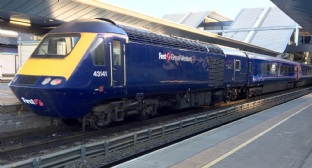 First Great Western Dynamic Lines Blue